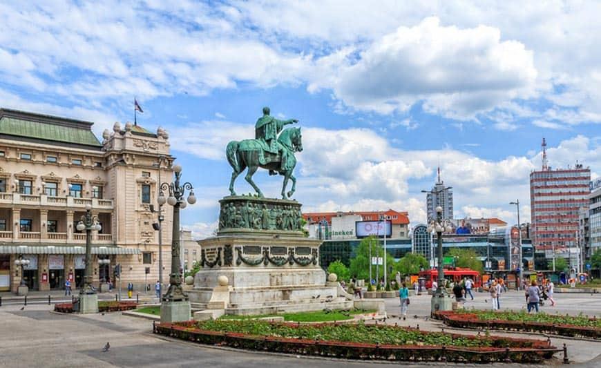 כיכר הרפובליקה בלגרד